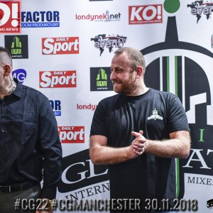 Celtic Gladiator 22 - Weigh In